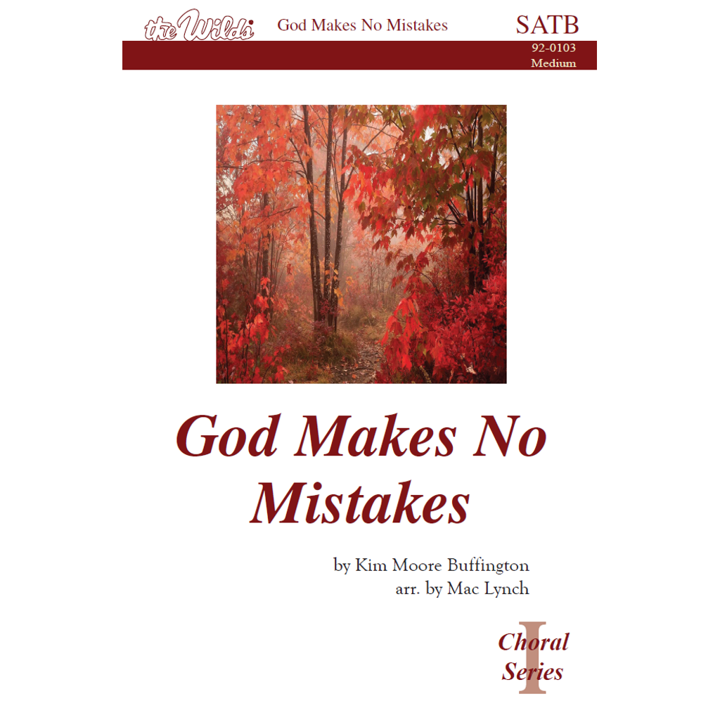 God Makes No Mistakes