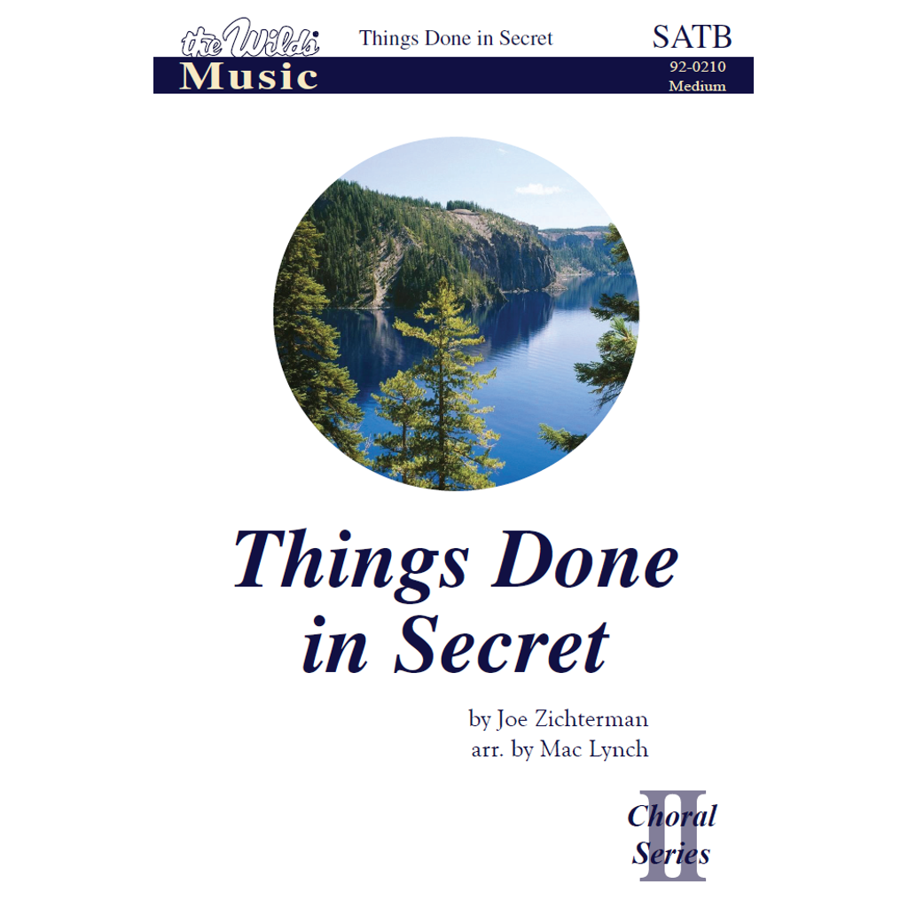 Things Done in Secret