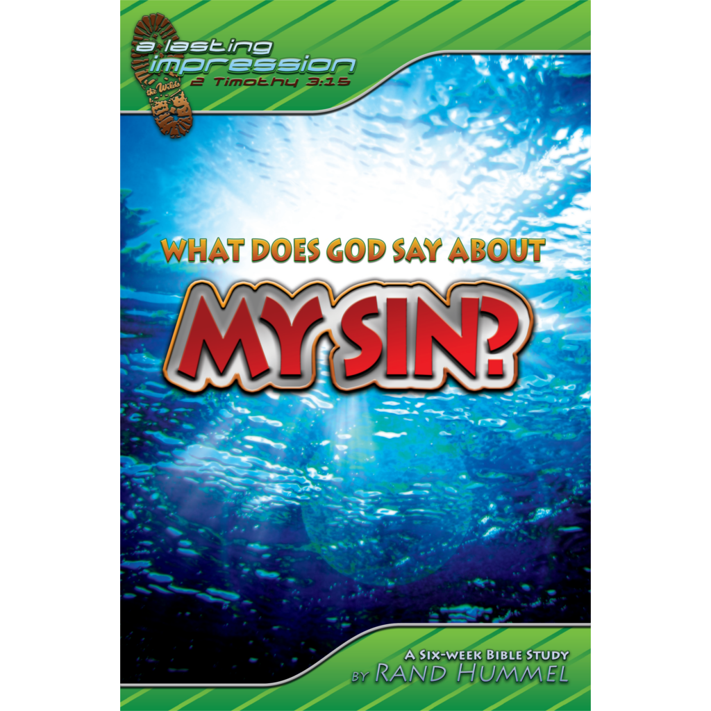 What Does God Say About My Sin?