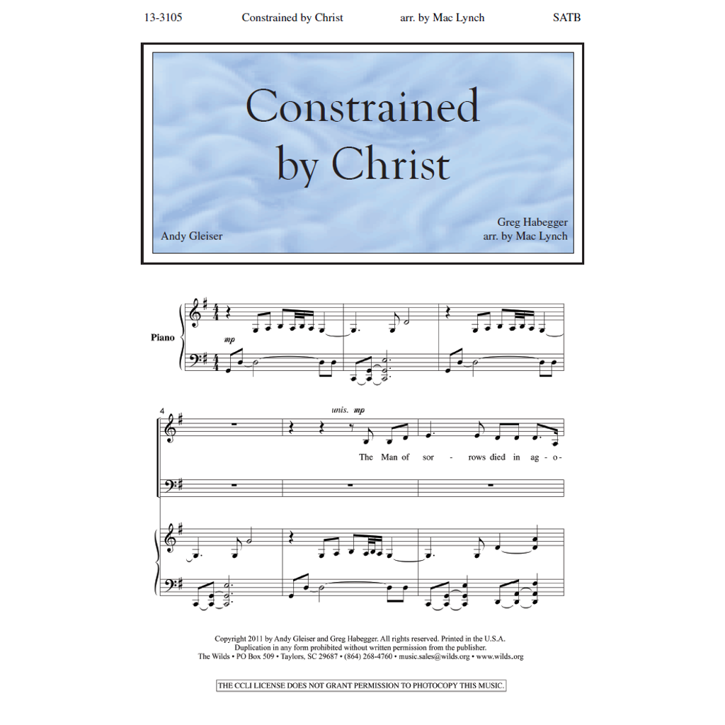 Constrained by Christ